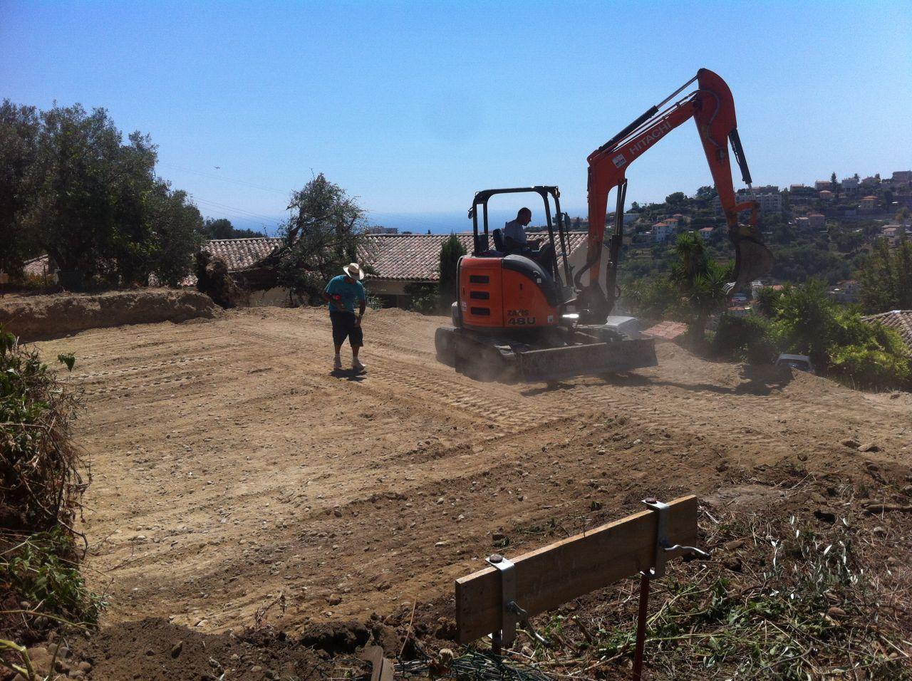 Démarrage de chantier !
