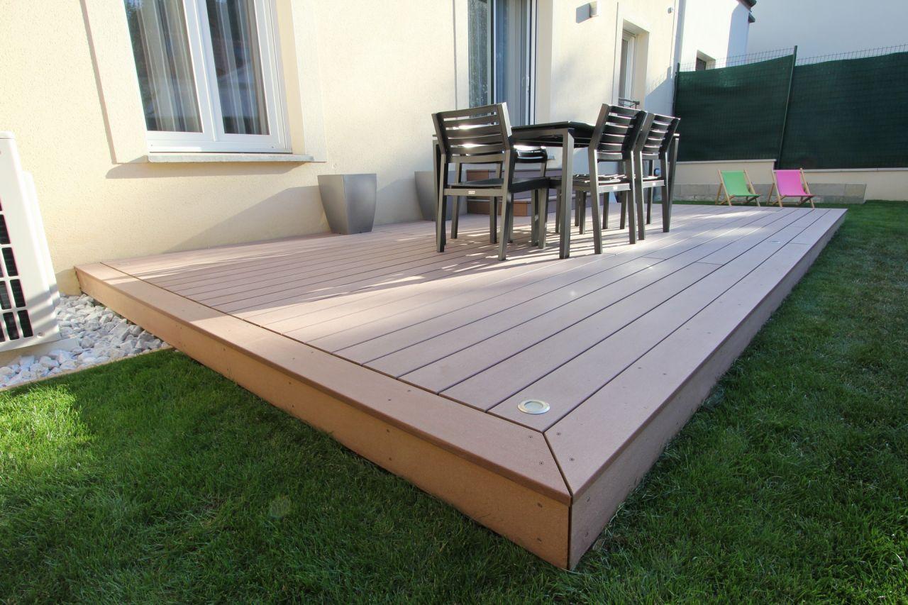 r alisation d une terrasse bois composite silvadec 57 messages. Black Bedroom Furniture Sets. Home Design Ideas