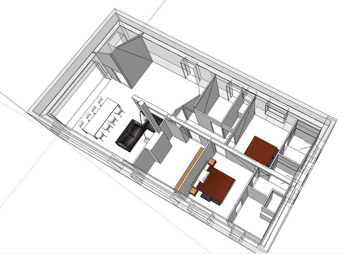 le plan 3D 3