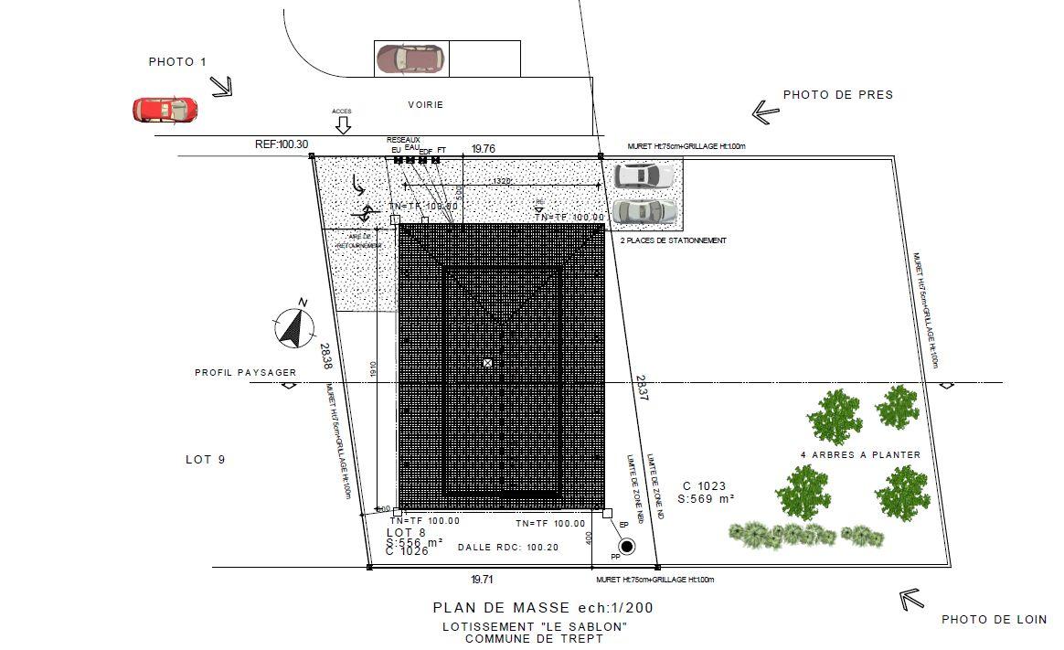 le plan de masse 2
