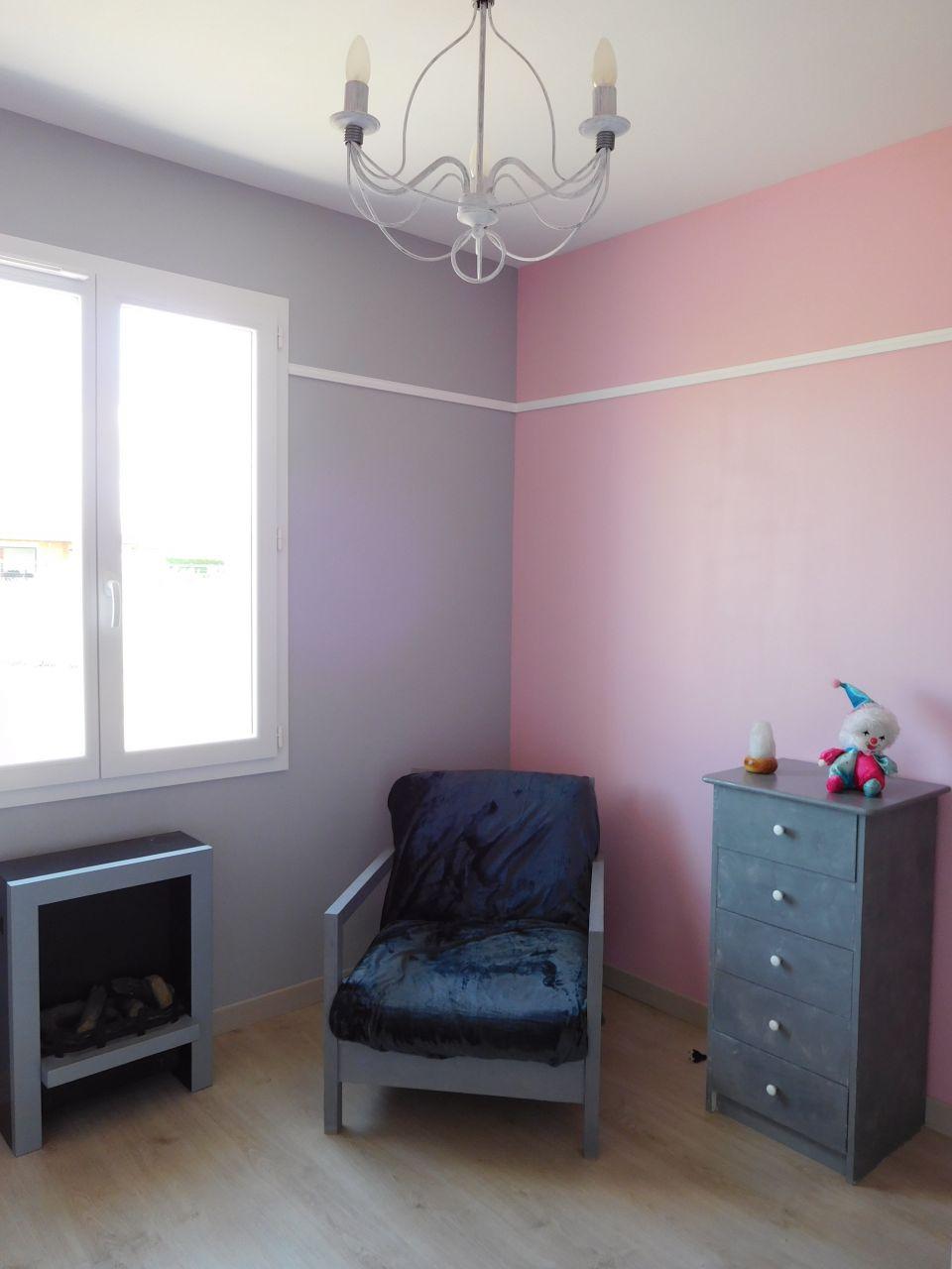 photo chambre rose et grise d233coration chambre d
