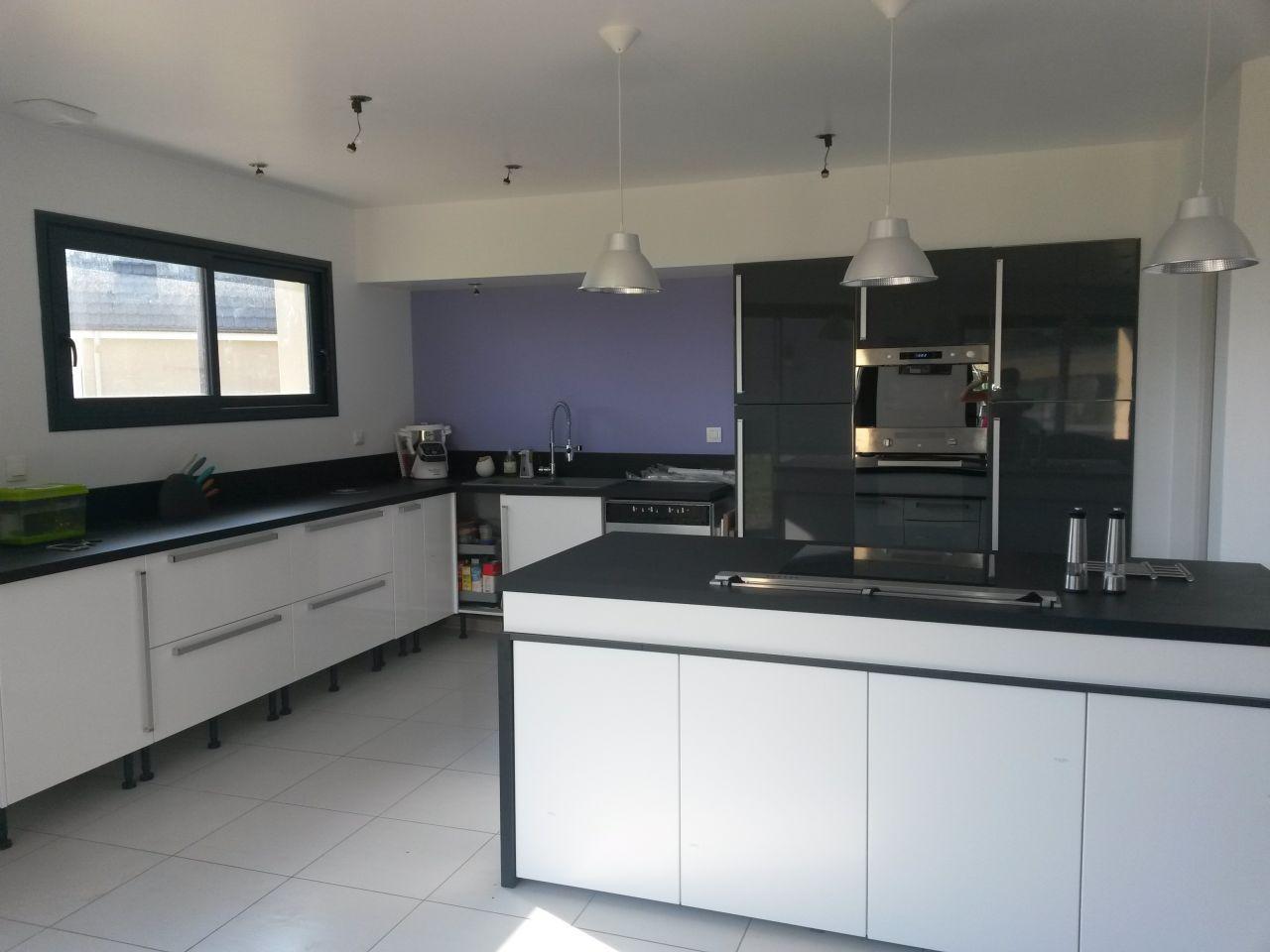 photo cuisine 14m2 hygena goderville seine maritime 76 aout 2015. Black Bedroom Furniture Sets. Home Design Ideas