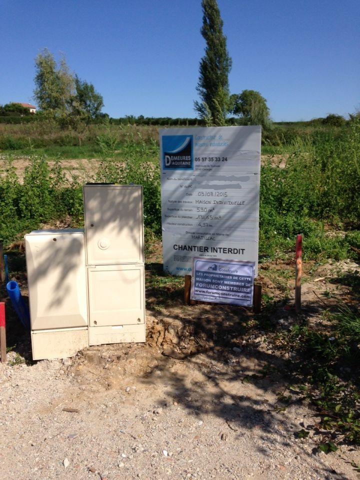 Permis de construire signature terrain enfin les artisans ont retrouv la - Forum permis de construire ...