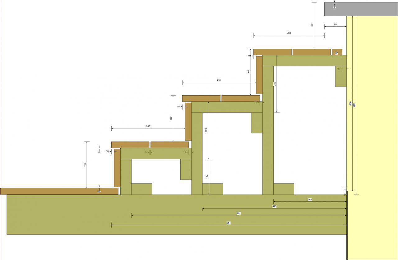 R alisation d une terrasse bois composite silvadec 46 for Pose terrasse bois sur parpaing
