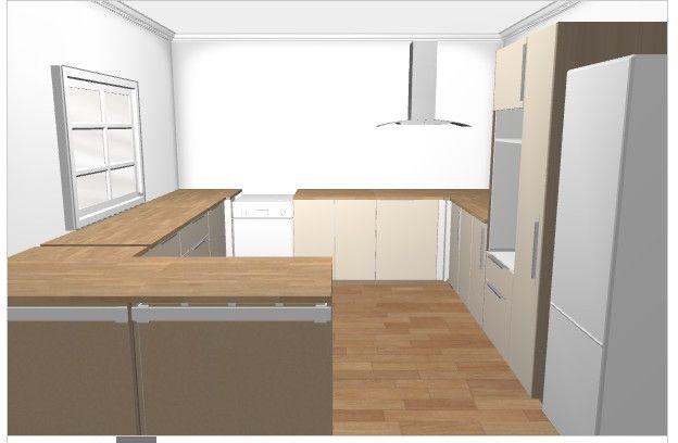 Les projets implantation de vos cuisines 8763 messages page 537 - Ikea simulation cuisine ...
