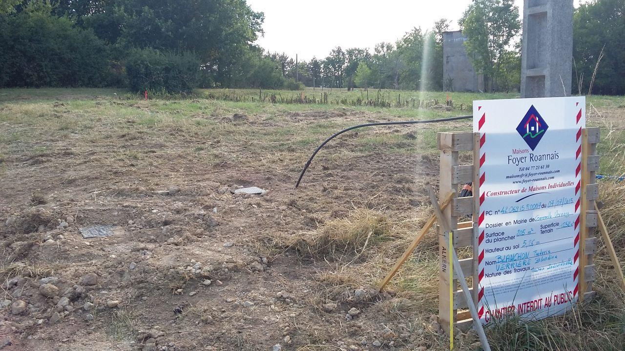Raccordement du terrain aux réseaux d'eaux pluviales, eaux usées et eau potable