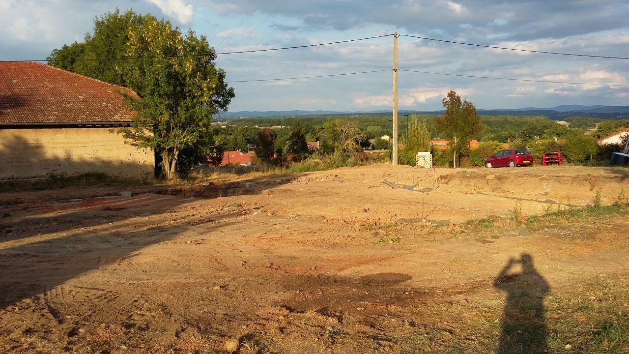 Fondation du terrain