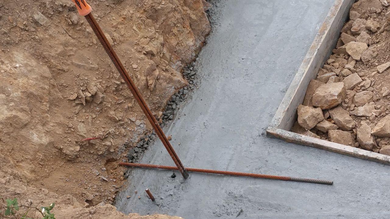 Ferraillage parasismique combien de fers en attente for Prise de terre fond de fouille
