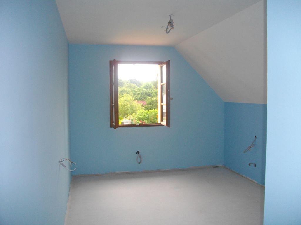 La peinture des chambres à l'étage   carrelage et cuisine, ça ...