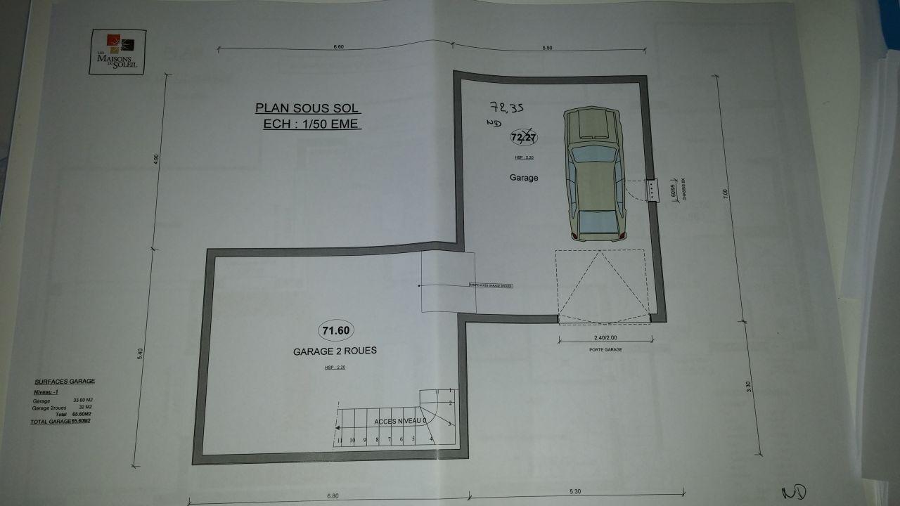 Avis sur plans maison r 1 avec sous sol et garage 22 for Garage des paluds avis