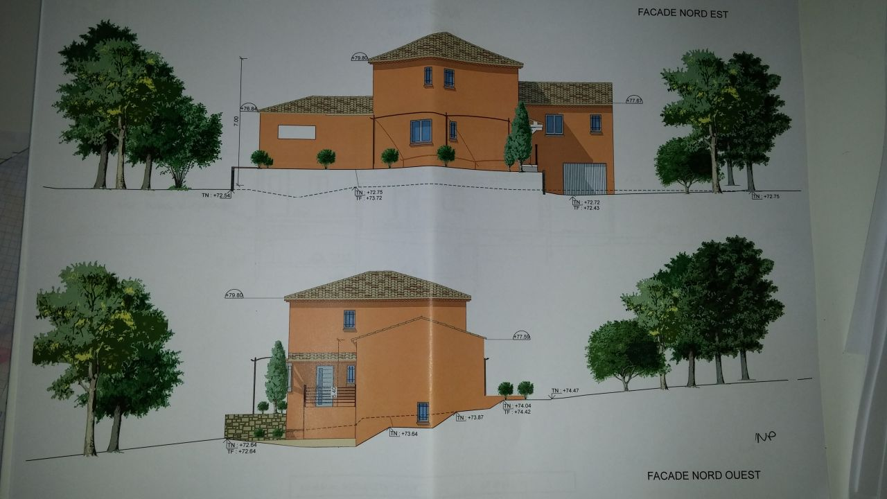 Avis sur plans maison r 1 avec sous sol et garage 22 for Maison avec garage sous sol