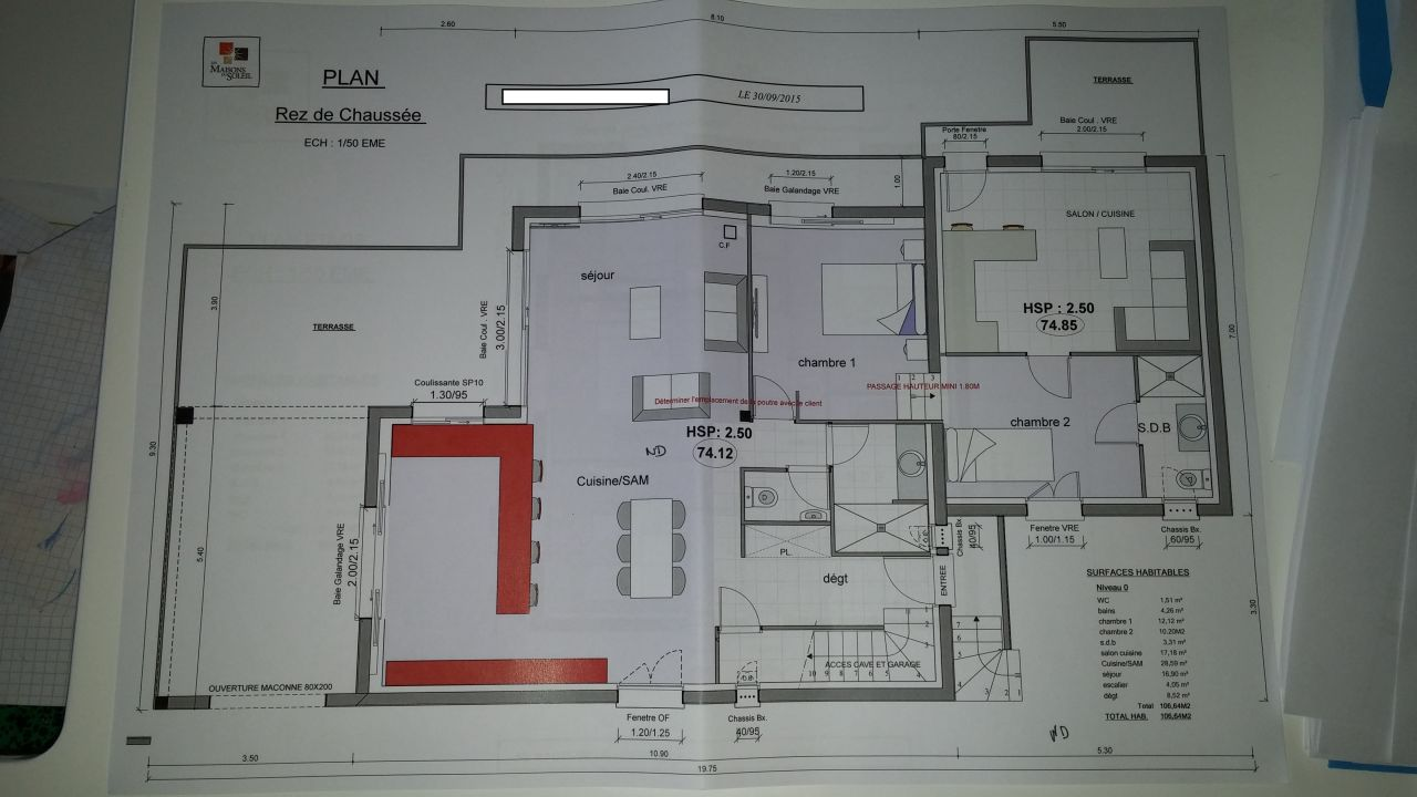 avis sur plans maison r 1 avec sous sol et garage 22 messages. Black Bedroom Furniture Sets. Home Design Ideas