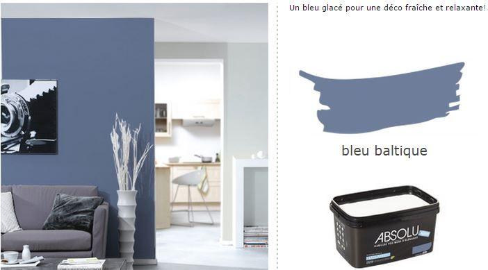 pour la chambre des parents : la couleur bleu pour la chambre des parents est prise, une chance c'était les derniers 4 pots avant fin de série !! oufff