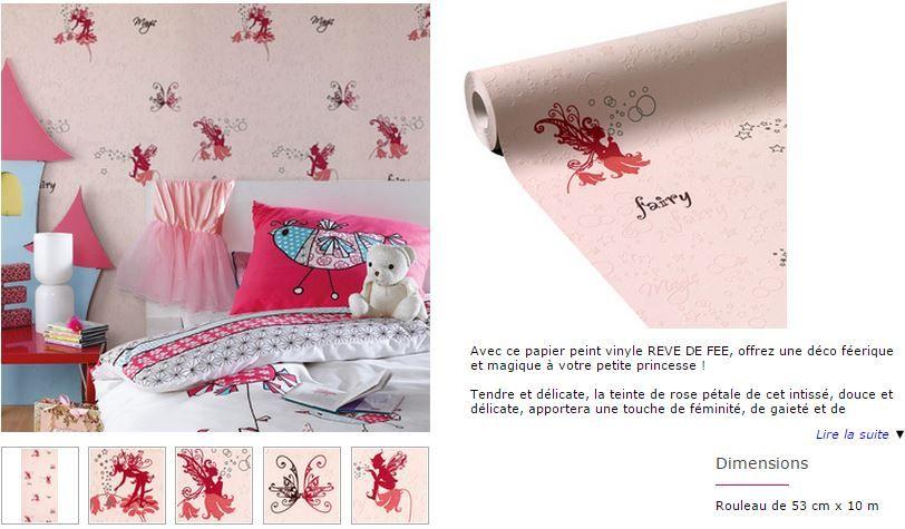 pour la chambre de Leanne : sous bassement en elfes, peinture blanche au dessus avec cadres