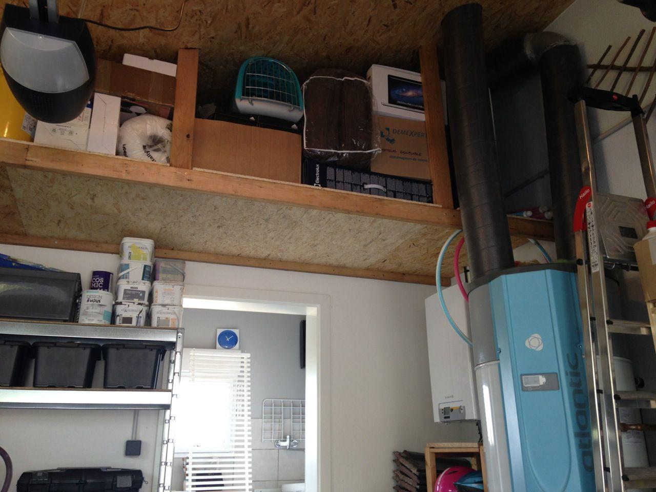 Suite de la nouvelle d co isolation du plafond du for Isolation plafond du garage