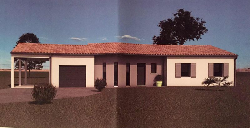 Projet 3D de notre future maison