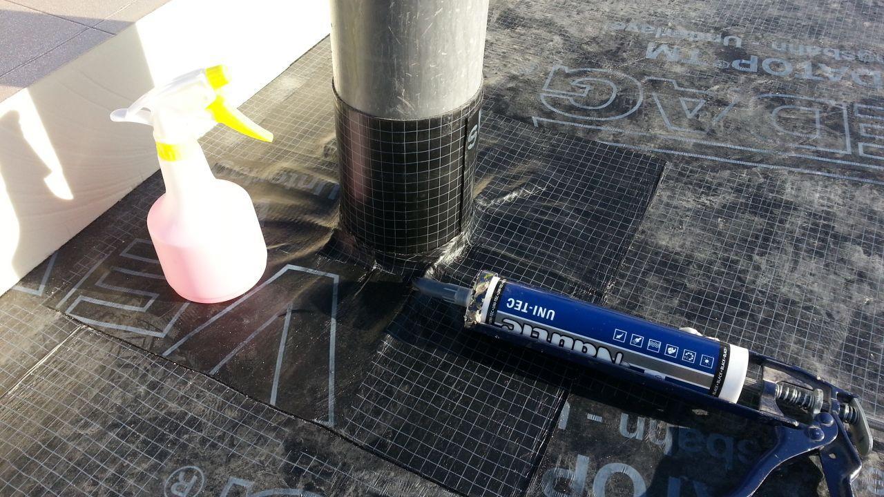 pare vapeur sur ventilation toiture végétalisé