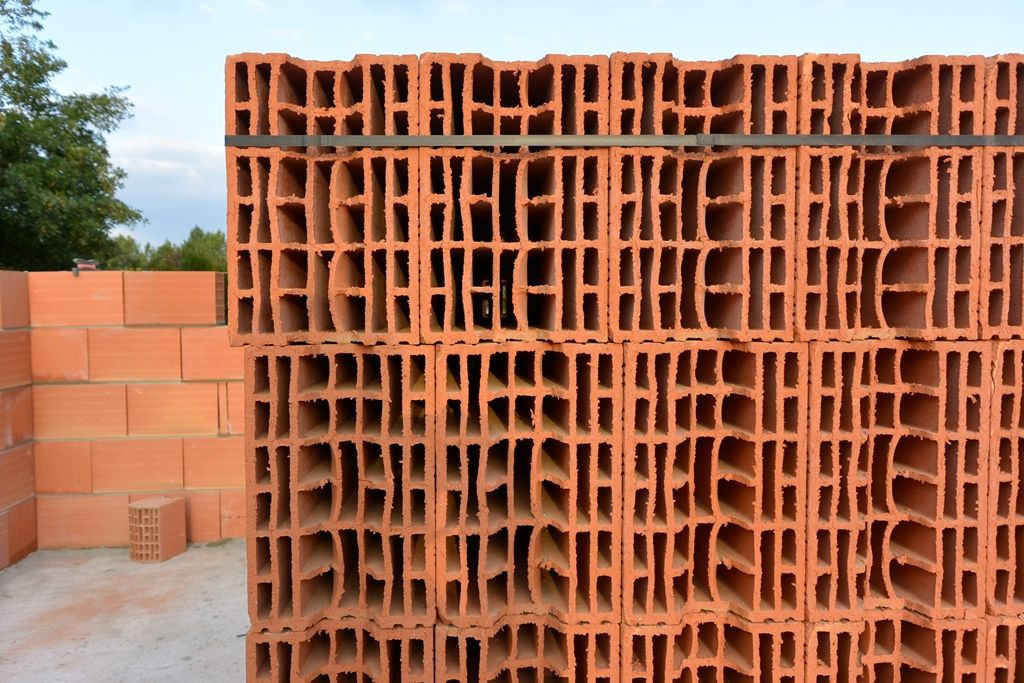 détails des briques
