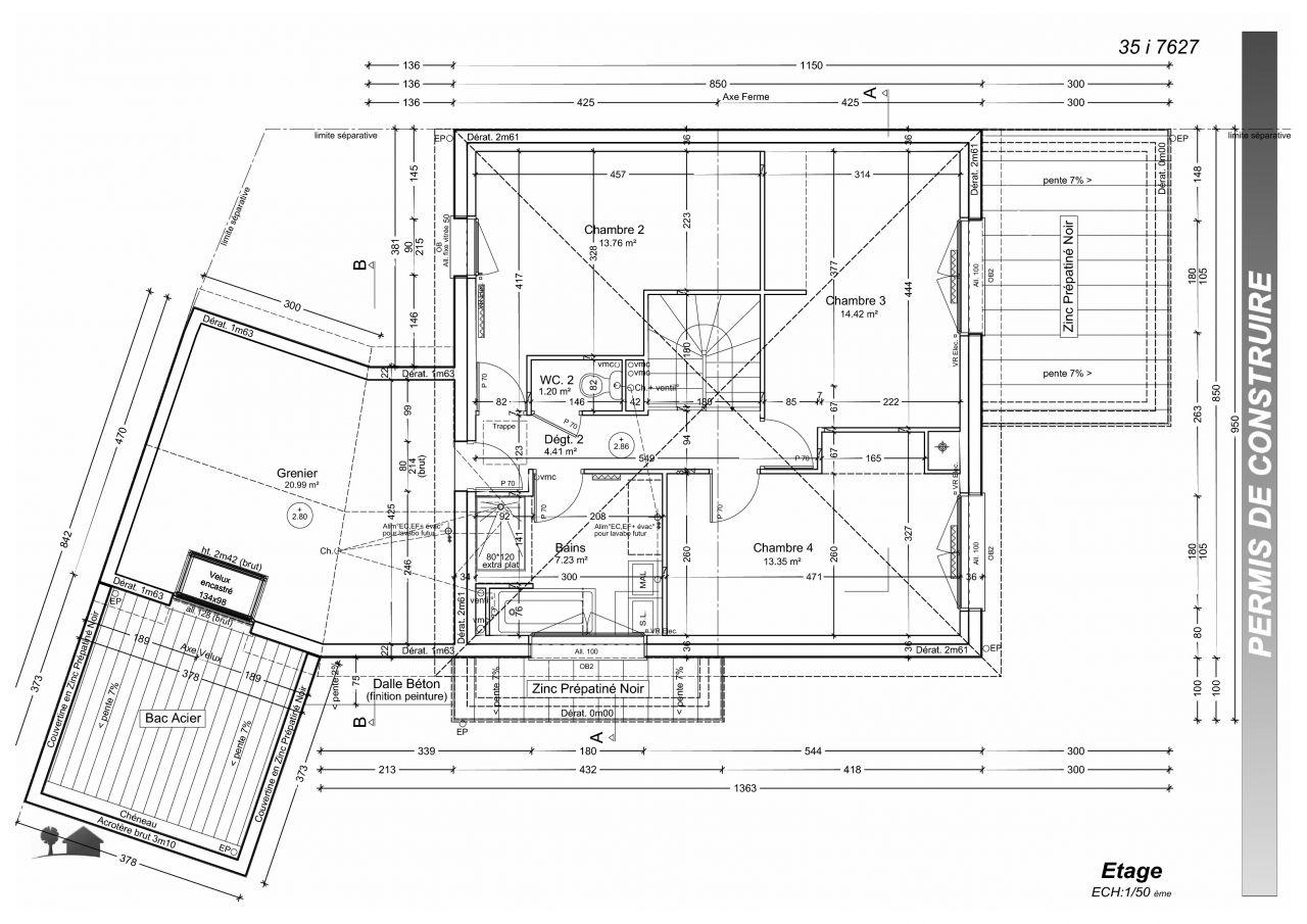 Plan de l'étape revu suite refus PLU, Septembre 2015