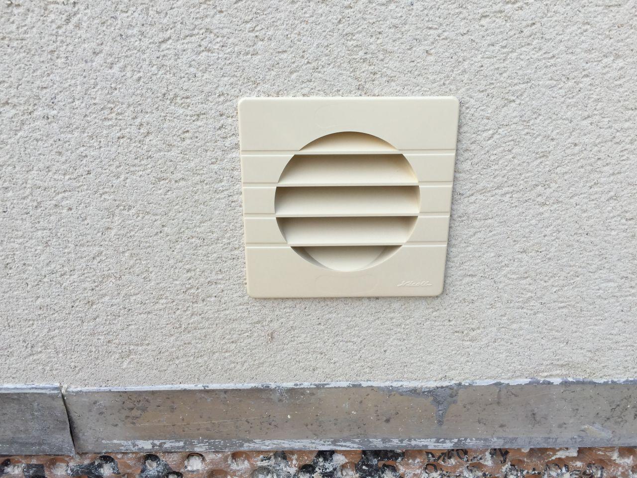 D but des travaux de pl tre pose des menuiseries - Grille de ventilation vide sanitaire ...