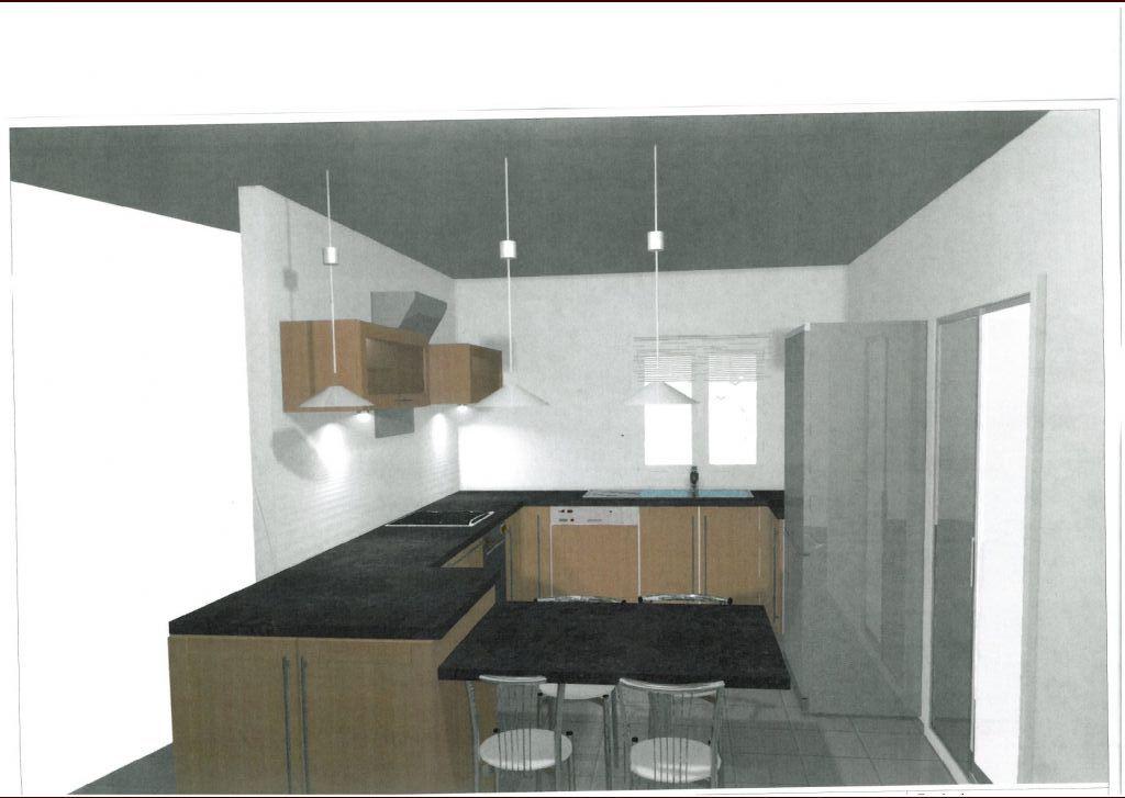 cuisine ca peut vous inspirer car nous aussi on a une ouverture baie de cm dans la cuisine par. Black Bedroom Furniture Sets. Home Design Ideas