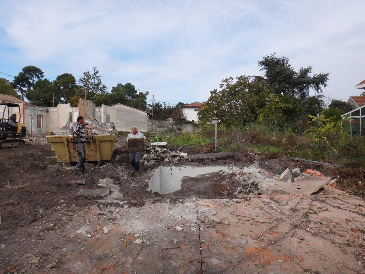 Demolition au 5ieme jour