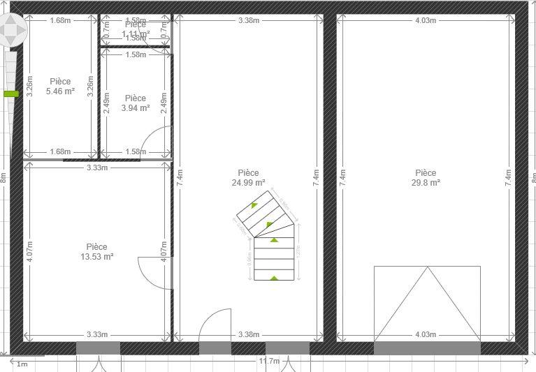 plan maison sous sol plan maison bois sous sol garage terrain pente plan de soussol maison. Black Bedroom Furniture Sets. Home Design Ideas