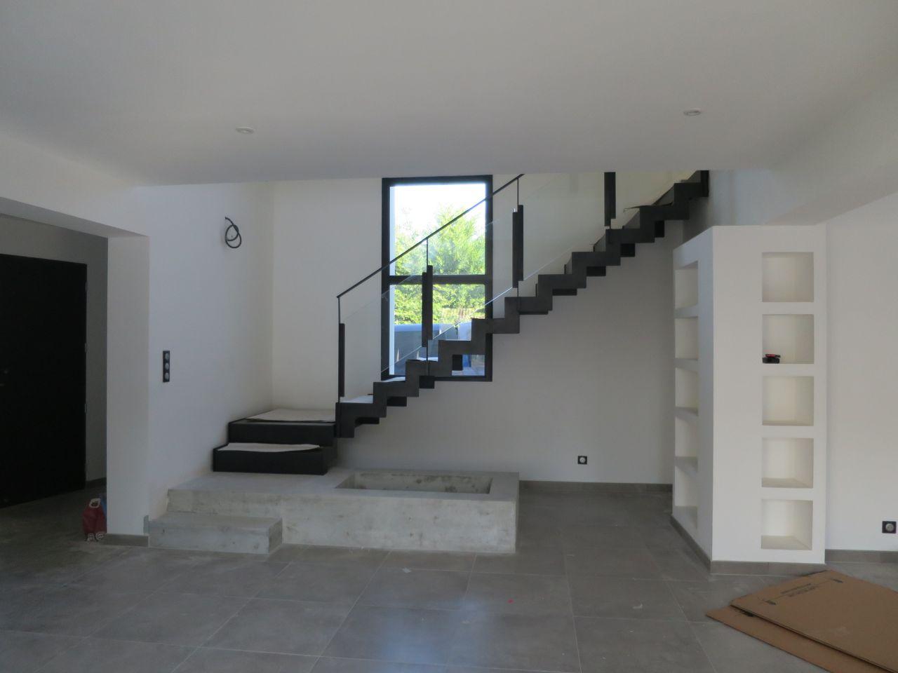 escalier terminé