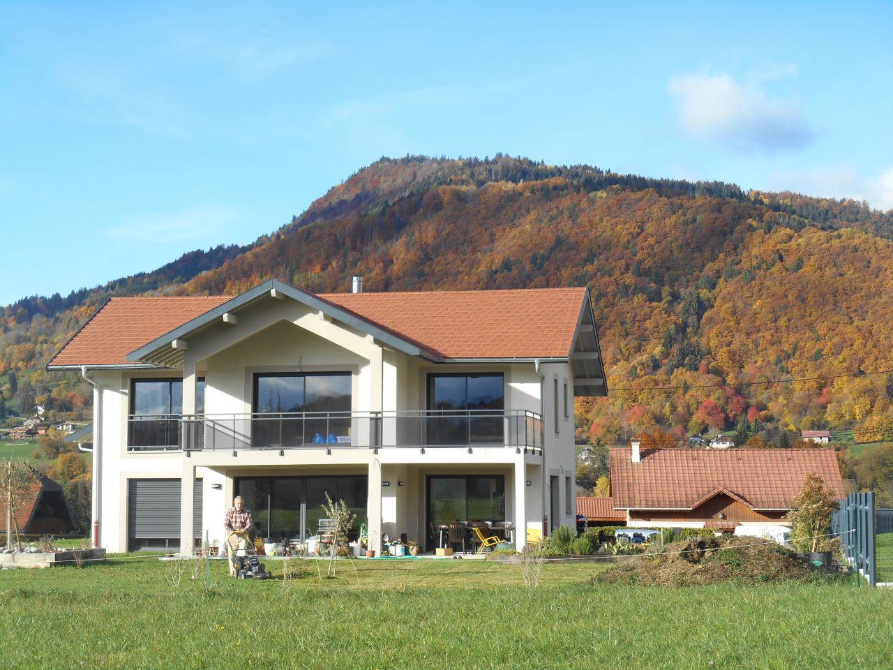 Déco générale du jardin - Haute Savoie (74) - octobre 2015