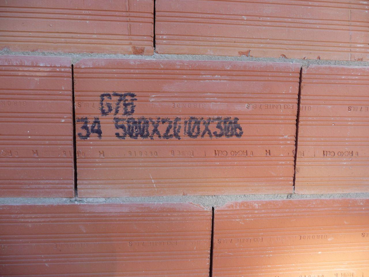 Détail brique
