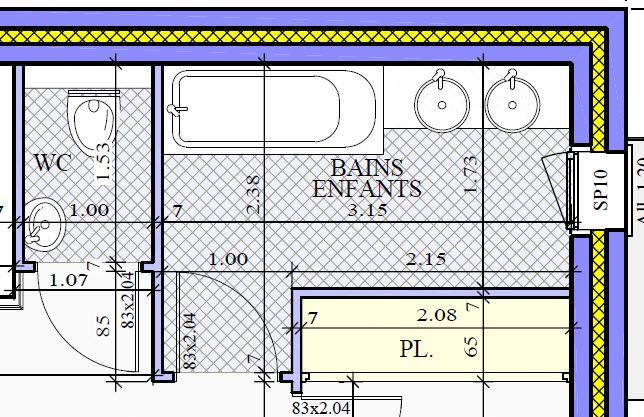 plan sdb besoin de vos avis pour am liorer nos plans 15 messages. Black Bedroom Furniture Sets. Home Design Ideas