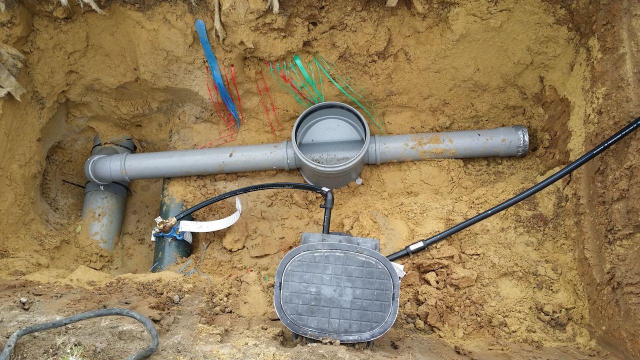 Branchement eau potable /tout à l'égout