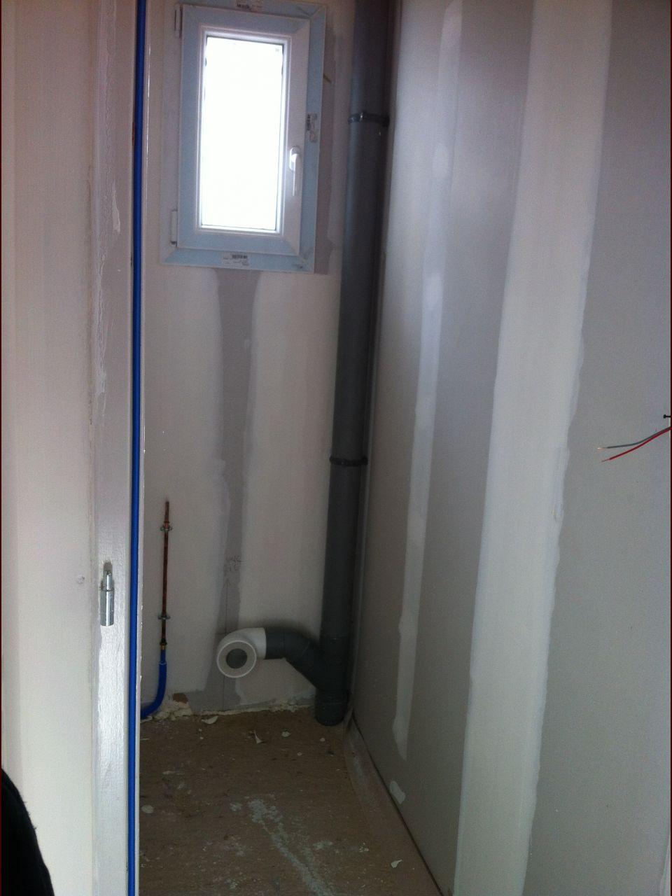 Hauteur Sous Plafond 2M40 ventilation avec aérateur (wc) [résolu] - 11 messages