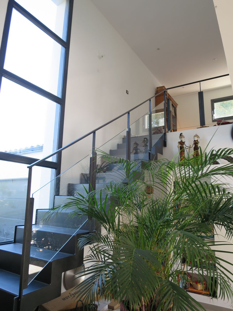 vue de l'escalier