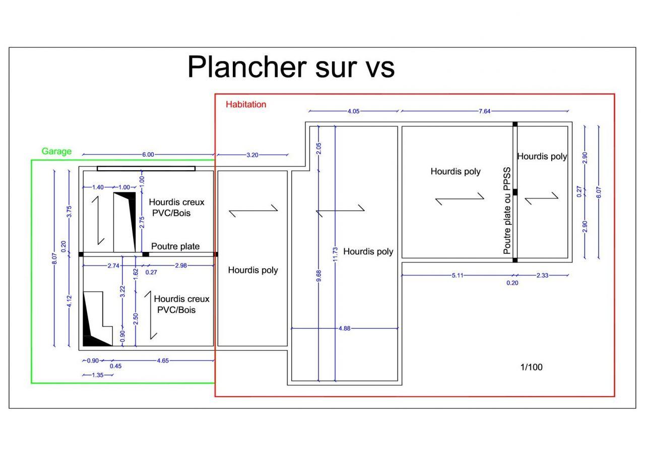dimensionnement poutre plancher 6m 2 trav es 13 messages. Black Bedroom Furniture Sets. Home Design Ideas