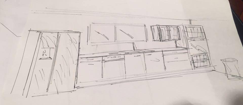 Vue cuisine côté fenêtre