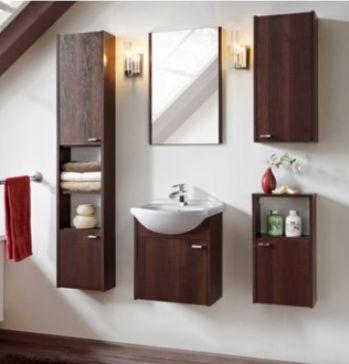 Les meubles commandés pour la salle de bain du rez de chaussé