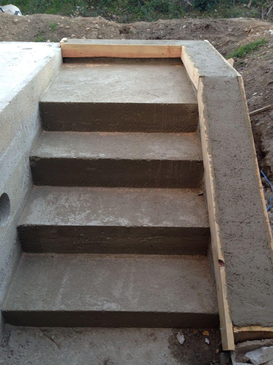 Escaliers créé par mon père et moi même