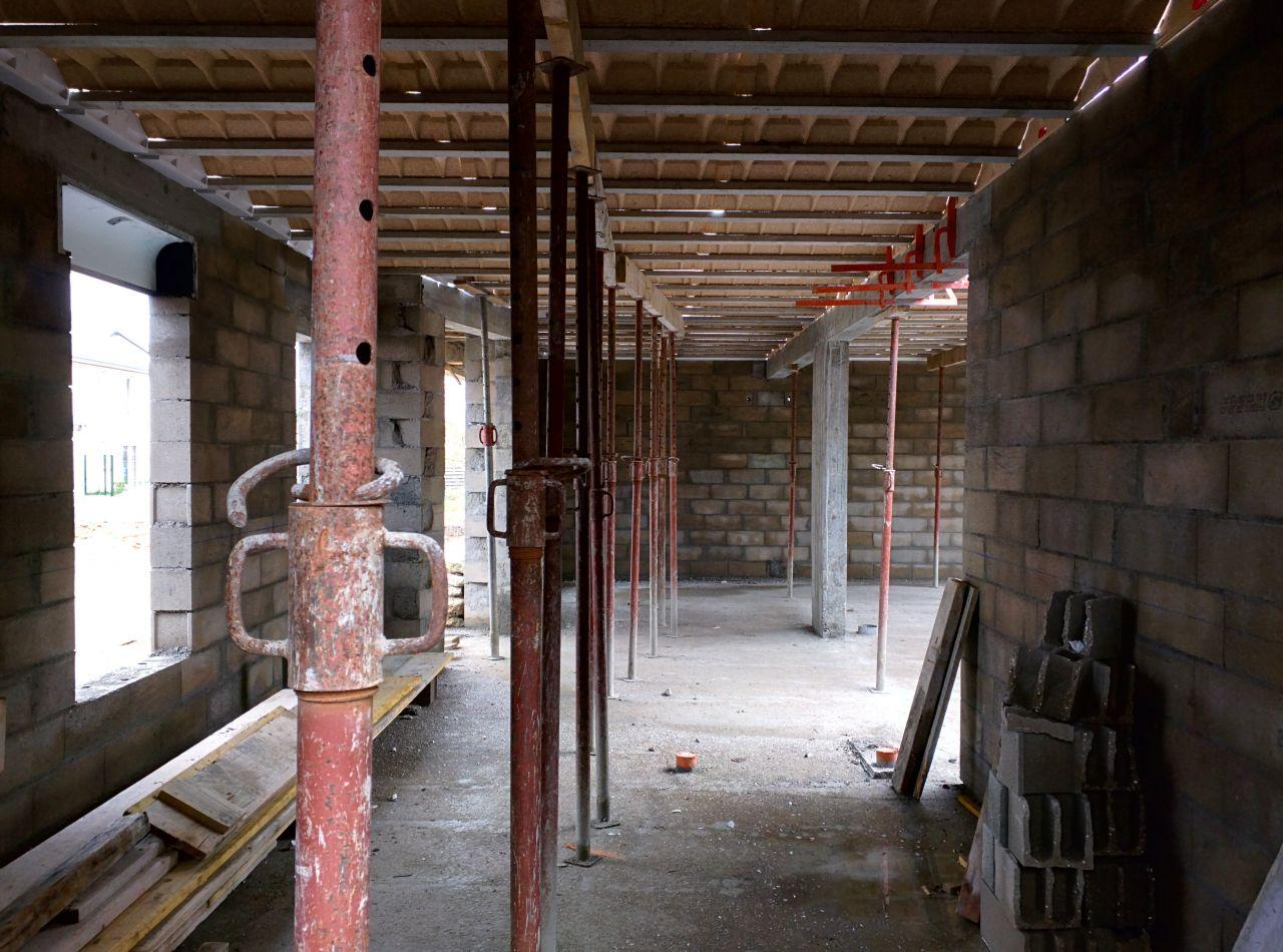 r solution de probl me de la dalle bient t les murs el vation des murs du rdc loiret. Black Bedroom Furniture Sets. Home Design Ideas