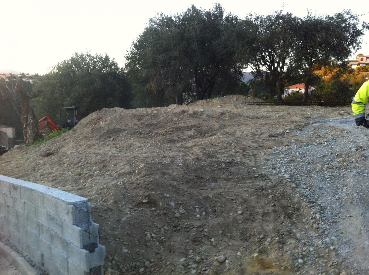 Terre remblayé