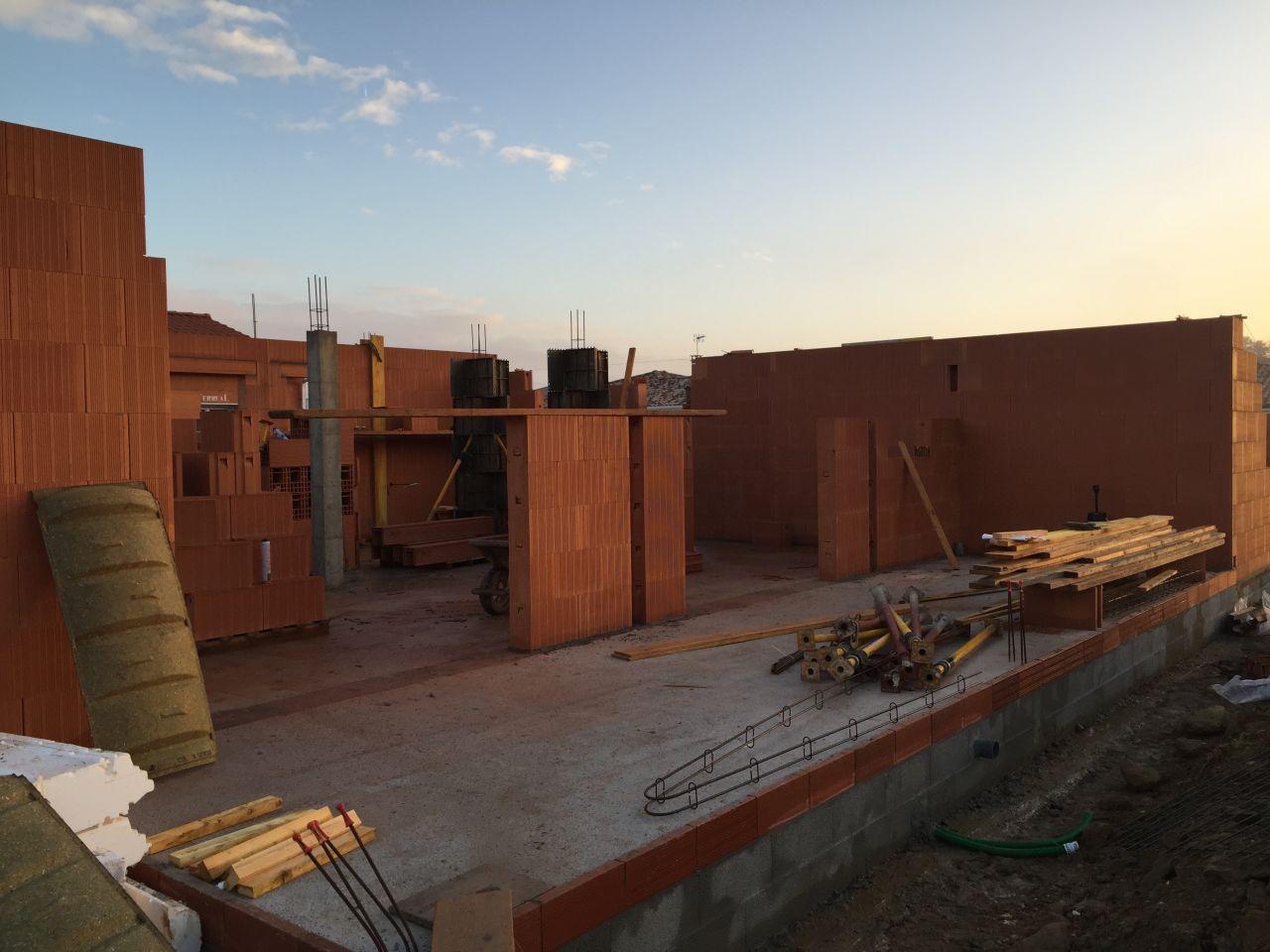 Elévation des murs - Jour 3