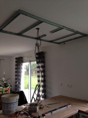 Faux plafond sur plafond placo r solu 16 messages - Accrocher cadre sur placo ...