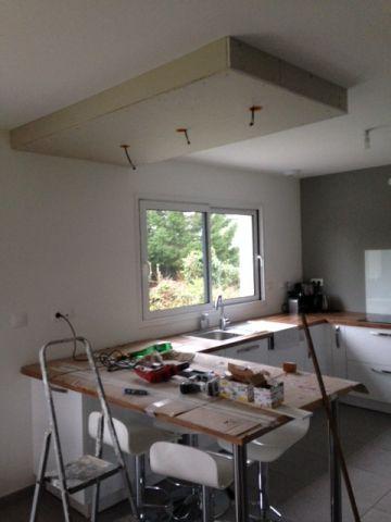 Electricité pour faux plafond