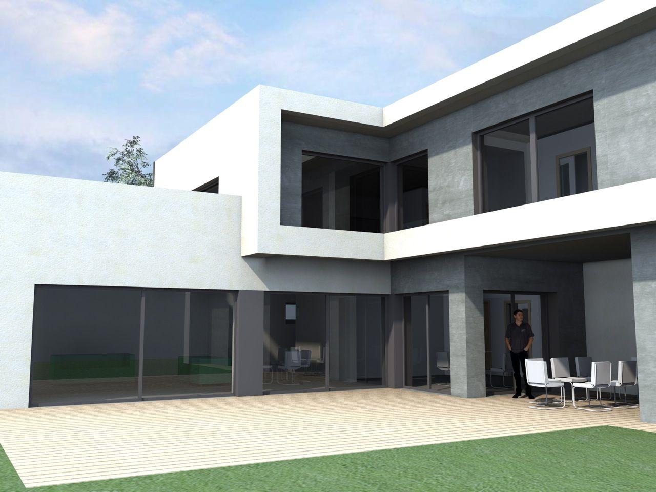 Autoconstruction maison passive toit plat bas rhin for Autoconstruction maison passive