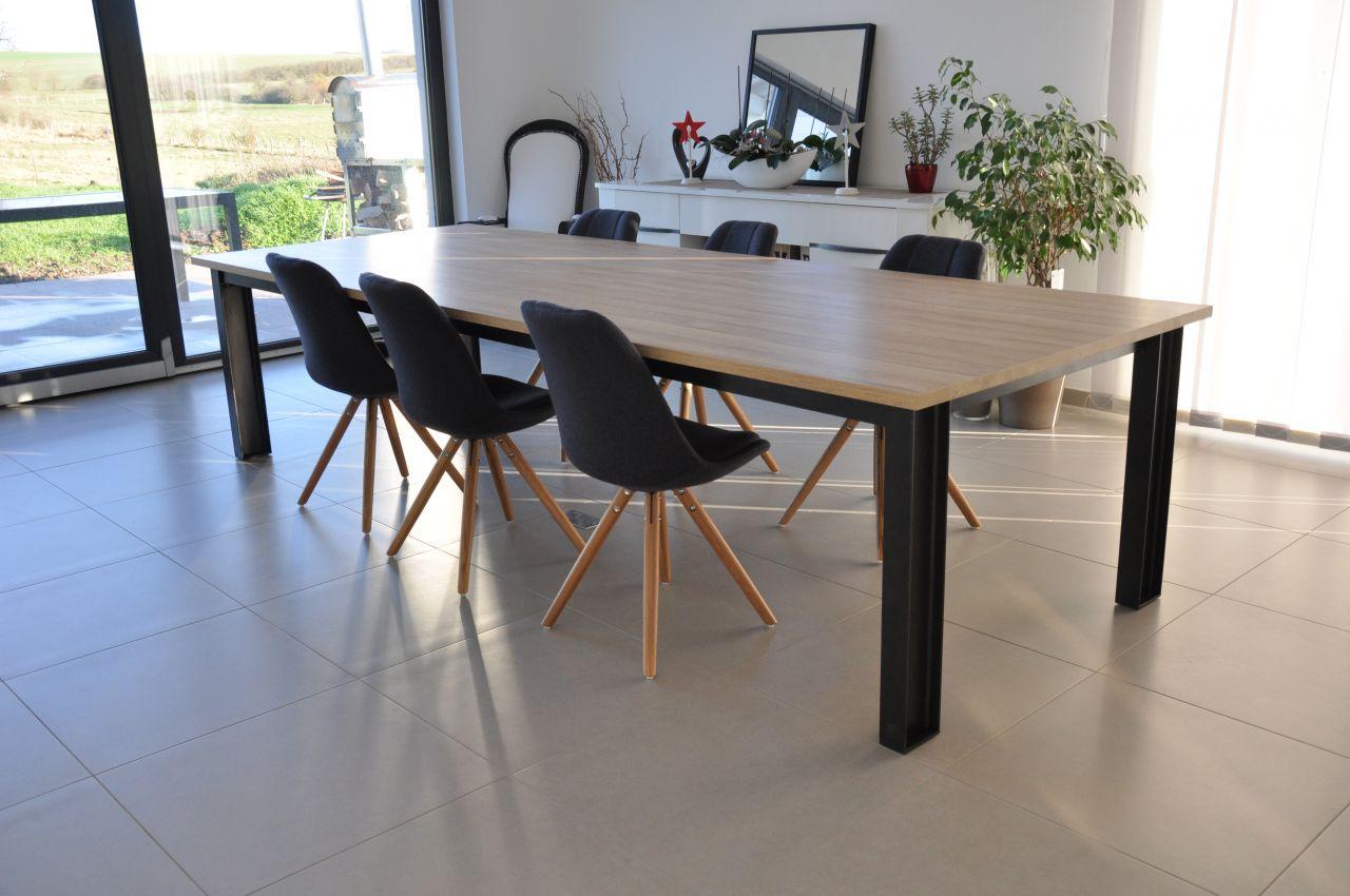 Table de salle à manger fait maison