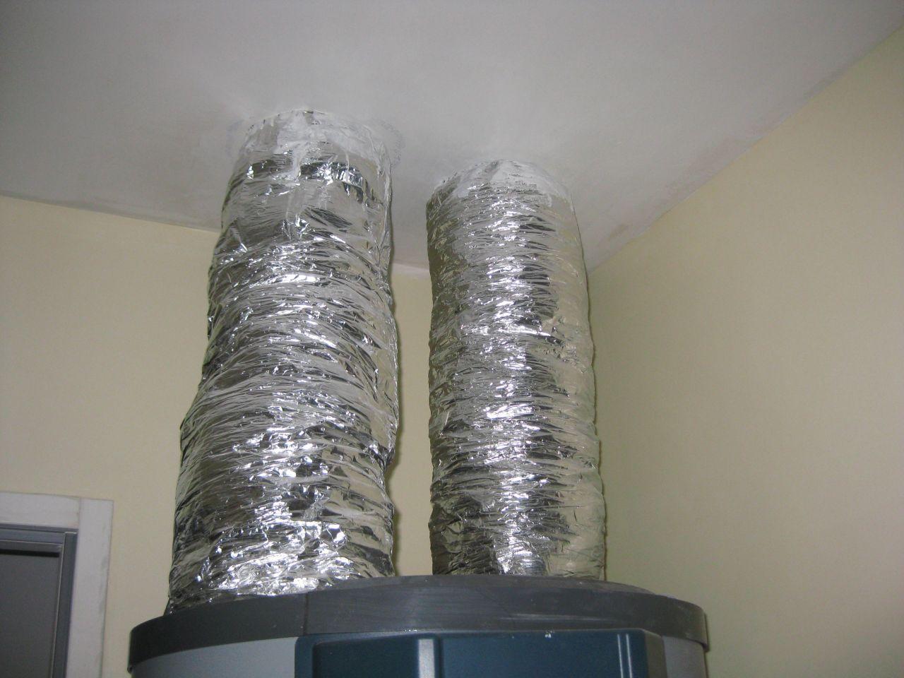 installation chauffe eau thermodynamique avec gaines consuel malgr absence de branchement. Black Bedroom Furniture Sets. Home Design Ideas