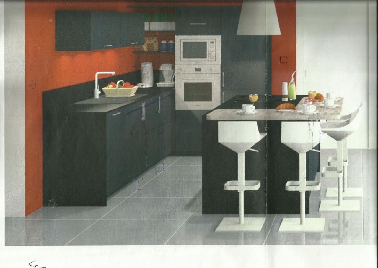 Photo projet cuisine autres nord 59 for Projet cuisine