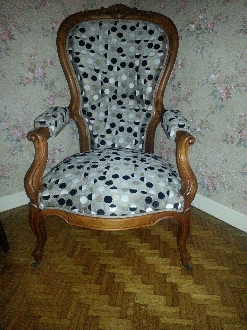 fauteuil à bosse