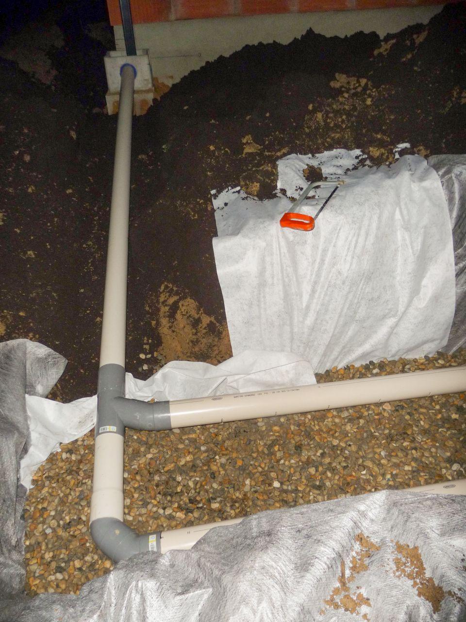 La charpente delta ms soubassement du garage a se for Vinaigre blanc dans fosse septique
