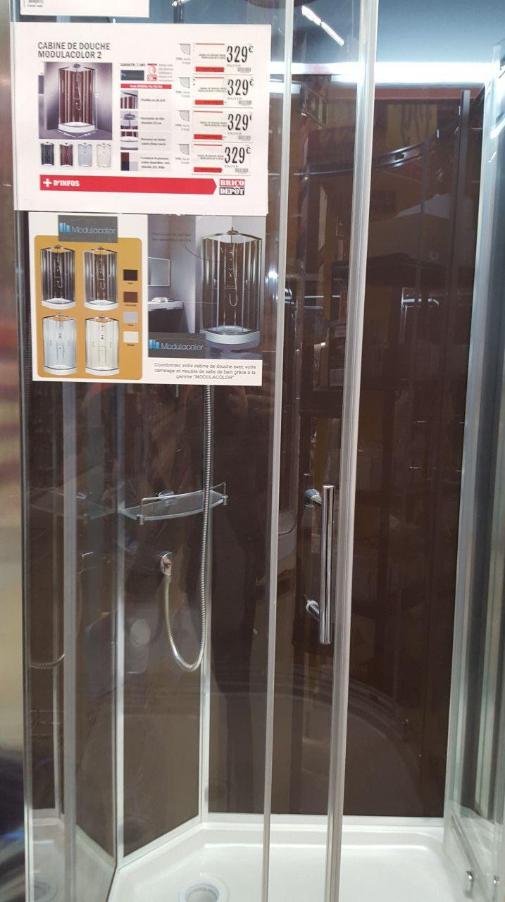 cabine de douche modulacolor